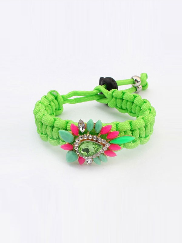 Occident Ethnic Customs Woven Colorful Hot Sale Bracelets